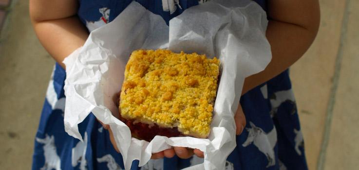 Kirschstreusel, Kuchen, rezept