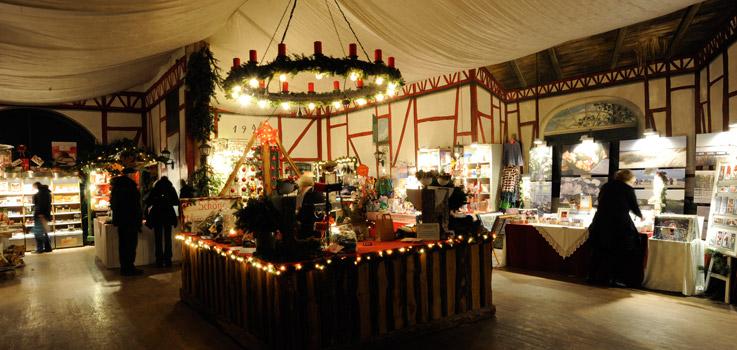 Weihnachtsmarkt, Stockseehof, Geschenke
