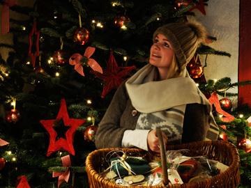Weihnachtsmarkt, Stockseehof, Dekoration